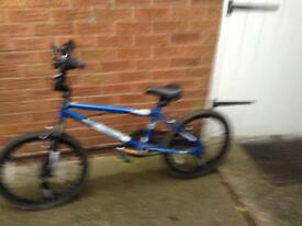 Blue bike for sale will suit a 12 or 10 year old