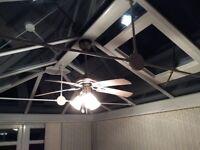Ceiling fan - excellent condition