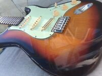 Beautiful Stratocaster Style Guitar by Revelation.