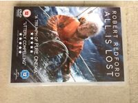 DVD ALL IS LOST Robert Redford