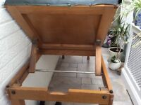 Old doctors table/ massage table