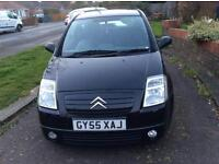 Citroen C2, 55 plate, 05 year , 78,000 miles £1000 no offers