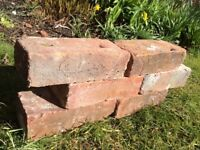Handmade Rustic bricks x 60