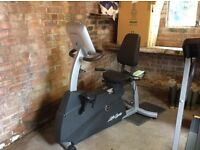 Recumbent exercise bike in very good condition