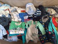 Baby Boy Clothes 0-3months - over 50 items