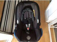 Maxi cosi cabriofix 0+ car seat