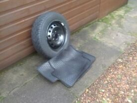 Wheel,Tyre and mats