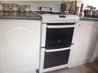 Gas cooker for sale.double oven.4 burners. Excellent condition