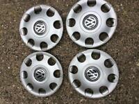 VW wheel trims 13 inch