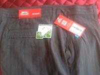 Slazenger Golf Trousers Only 5pairs left 32R 38S 40R