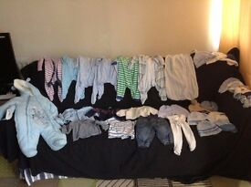 Baby boy clothes bundle 3-6m