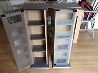 Dvd cabinets x2