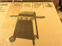 Brand new gas barbecue.