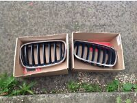 Bmw x5 kidney grilles pair bargain!!!!2007 onwards wow chrome