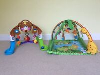 Baby jungle play gym and Bear