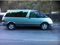 Toyota estima 2.2 diesel ( lucida/enima/previa) 8 seater people carrier