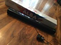 Alba Bluetooth speaker soundbar