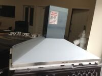 100cm stainless steel cooker hood. £60 RRP £189 new/graded 12 month Gtee