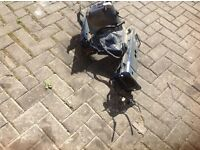 Ford Fiesta MK 8&9 chassis leg and flitch (both sides)