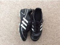 Childs size 2 Adidas Football Boots