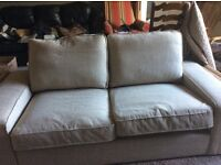 REDUCED! IKEA beige sofa in excellent condition. Asking price or nearest offer. Pick up required.