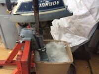 Evinrude 4HP 2stroke petrol outboard ,,spares or repair