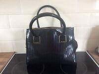 Genuine Black with gold detail ted baker hand bag
