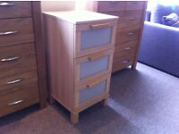 EXCELLENT CONDITION!!! 3 drawer chest of drawers, bedside table well made and sturdy