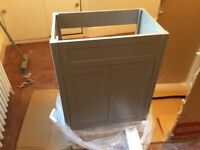 New Bathroom vanity unit - camberley satin grey (unit only)