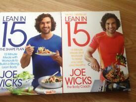 New joe wicks lean in 15 books