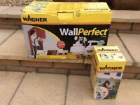 Wagner Wallperfect W665 electric paint spraying kit, complete, used on just one project