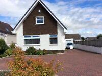 Irvine, Scotland Detached 3 bed house, garage & large garden