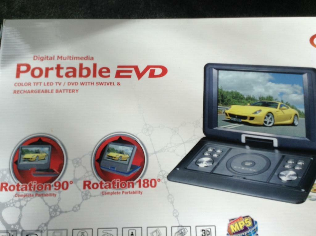Digital Multimedia Portable EVD Player