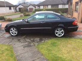 Mercedes CLK 200 Compressor Avantgarde 2dr petrol with full years MOT and service history