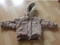 Baby Girl Coat For Sale Age 9-12 Months
