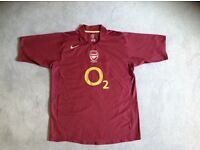 Classic Arsenal footbal shirt