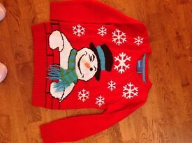 Christmas jumper age 9-10 years