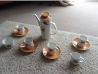 VINTAGE/RETRO 1970's CUPS AND SAUCERS, £10