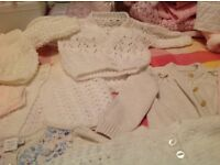 Baby cardigans new or as new,