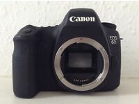 Canon EOS 6D (WG) 20.2 MP DSLR - 1080p - Wifi + GPS - Body and Battery ONLY - Good Working Condition