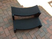 Hot Tub Steps fits Canadian Spa Swift and Layz Spa