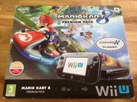 Nintendo Wii U - Mario Kart 8 premium pack + New Super Mario Bros