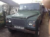 110 Land Rover pick up galvanised chassis