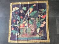 Buckingham Palace Silk Scarf 32 inch Square