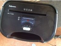 Fellowes office shredder