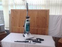 HOOVER GLOBE UPRIGHT BAGLESS CLEANER IN EXCELLENT CONDITION