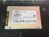 CRUCIAL MX200 2.5 SSD 500GB (4 MONTHS OLD)