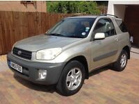 SOLD SOLD TOYOTA RAV4 NV 1.8 VVTI, ESTATE 2002 (51 PLATE) 5 SPEED MANUAL, BARGAIN