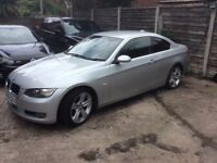 59 PLATE BMW 3 SERIES 3L COUPE, DIESEL