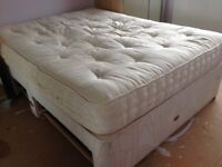King size bed divan with drawers